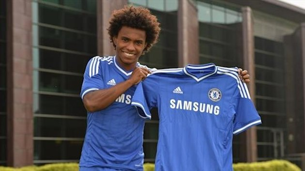 Willian - Chelsea and Brazil (Picture: Chelsea FC)