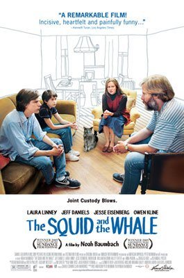 Laura Linney , Jeff Daniels , Jesse Eisenberg and Owen Kline star in Samuel Goldwyn Films' The Squid and the Whale