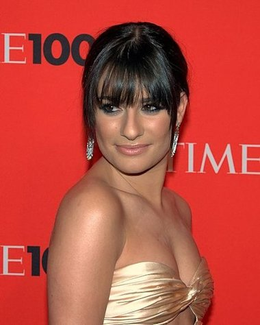 "Lea Michele is back on ""Glee"" again."