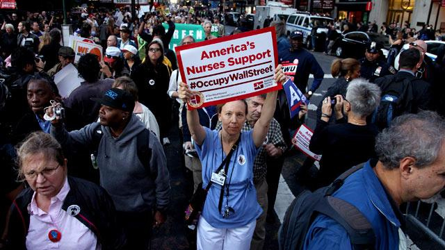 Occupy Wall Street Protests Spread Nationwide