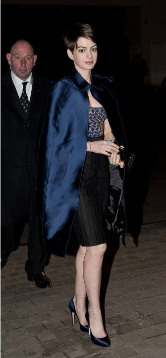 Anne Hathaway de after party