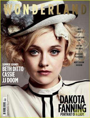 Dakota Fanning for the April/May 2012 cover of Wonderland magazine --