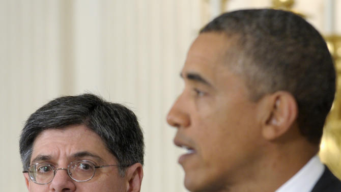 Obama picks Lew for Treasury as fiscal issues loom