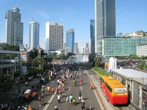 Jakarta, the capital and largest city of Indonesia