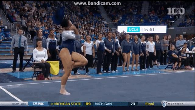 Flippin' Out: The Internet Is Losing It To This UCLA Gymnast's Hip-Hop Floor Routine