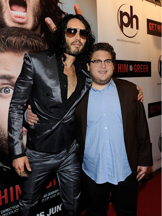 Get Him to the Greek Las Vegas screening 2010 Russell Brand Jonah Hill