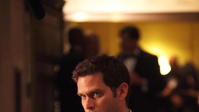 """This undated publicity photo released by NBC shows Steven Pasquale, as Dr. Jason Cole/Ian Price, in a scene from the TV series, """"Do No Harm,"""" Season 1,""""Me Likey,"""" Episode 104.  NBC is pulling the drama series """"Do No Harm"""" after two low-rated episodes.  The show, a take on the Dr. Jekyll-Mr. Hyde story, starred Pasquale of """"Rescue Me."""" (AP Photo/NBC, Eric Liebowitz)"""