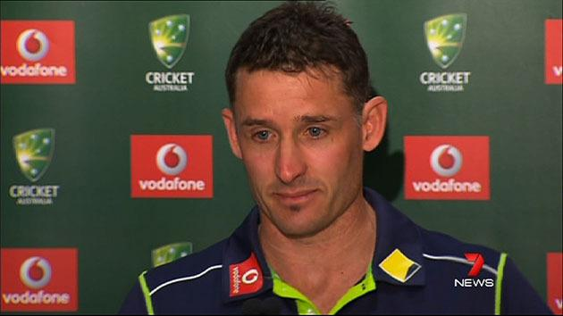Mike Hussey announced retirement