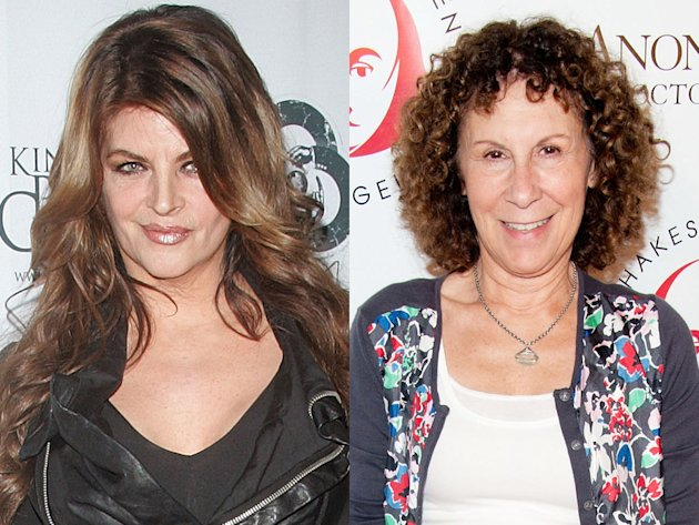 Kirstie Alley and Rhea Perlman …