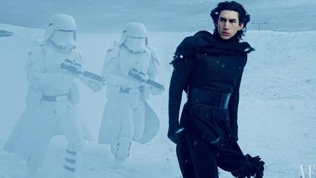 'Star Wars' Day: 'Vanity Fair' Gives Fans a Glimpse of Adam Driver and Lupita Nyong'o
