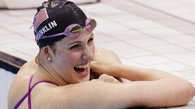 Missy Franklin of the US (Reuters)
