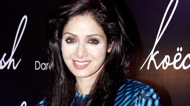 Sridevi's bad make up day