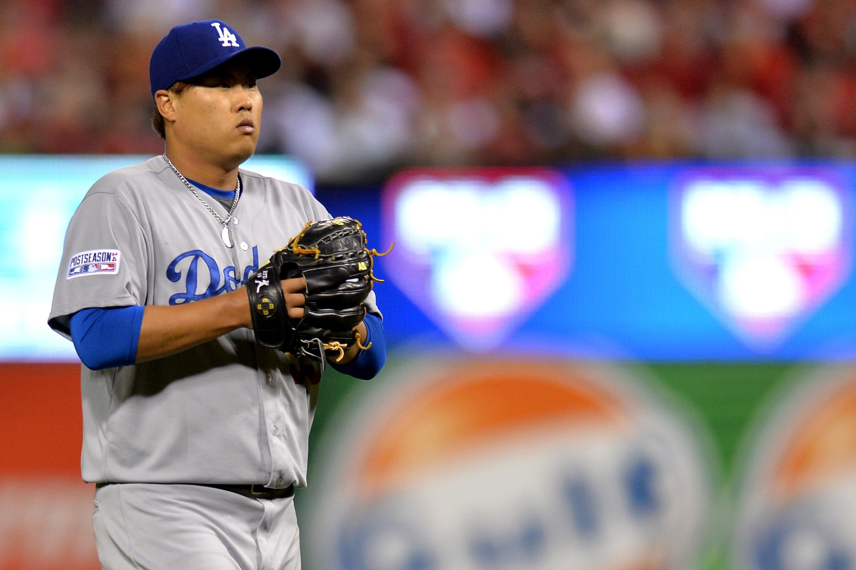 Hyun-jin Ryu pitched with torn labrum for two years