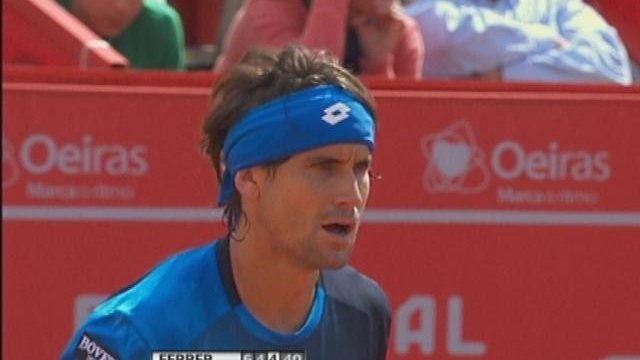 Portugal Open: Ferrer vs. Roger-Vasselin
