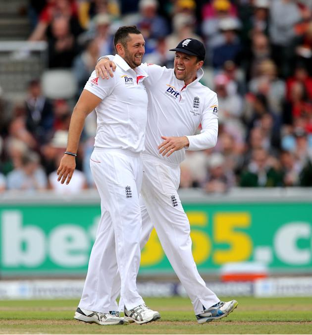 Cricket - Third Investec Ashes Test - Day Four - England v Australia - Old Trafford