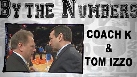 Coach K vs Coach Izzo - By the Numbers