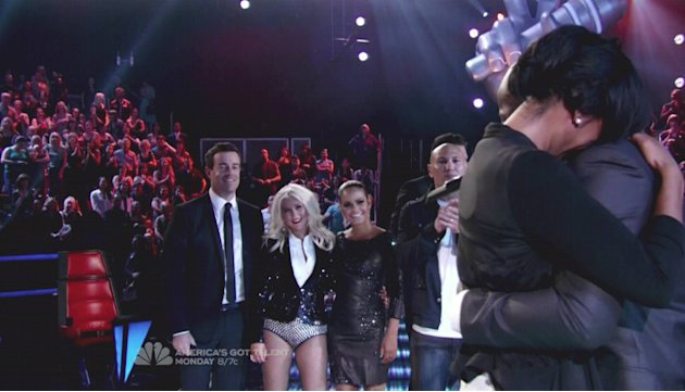 Christina AguileraNBC&amp;#39;s &amp;#39;The Voice&amp;#39; Season 2 Finale Part 2 The winner is revealed; Justin Bieber, Flo Rida, Lady Antebellum and Hall &amp; Oates perform USA - 08.05.12 Supplied by WENN.com  WE