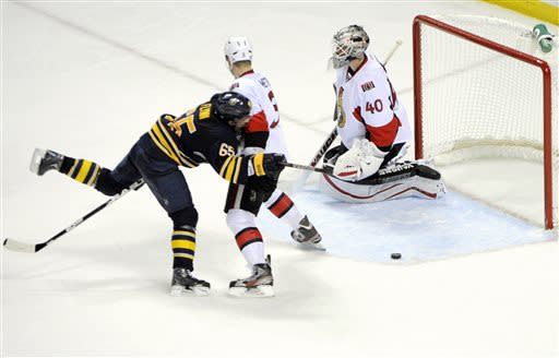 Sabres rally for 4-2 win over Senators