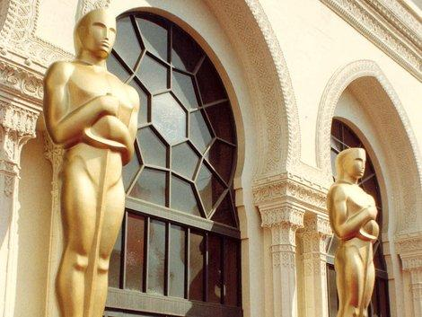 The Shrine Auditorium, site of the 60th Annual Academy Awards, 4/11/88.