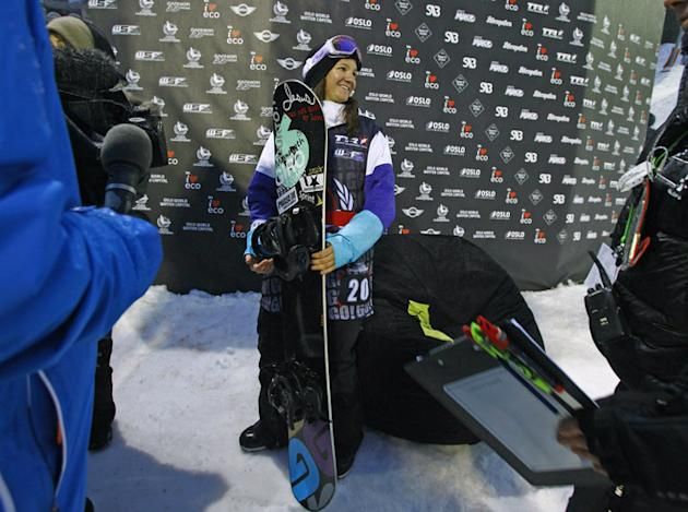 US Kelly Clark Poses AFP/Getty Images