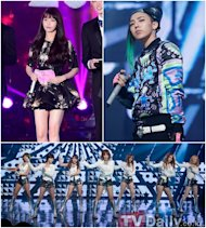 IU, G-Dragon, T-ara