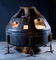 Rocket manufacturer ATK will use a composite space capsule as the vehicle to launch atop its new Liberty rocket. The first manned flight is set for 2015.