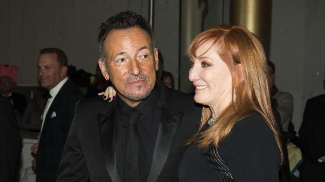 File photo of Bruce Springsteen and wife Patti Scialfa at the Kennedy Center Honors in Washington