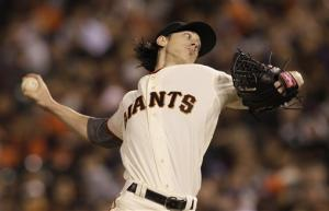 Lincecum leads Giants past Mets 4-1 to end skid