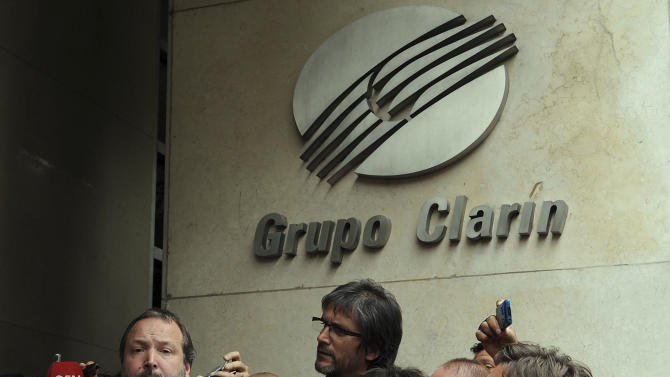 Argentina launches process to break up media group