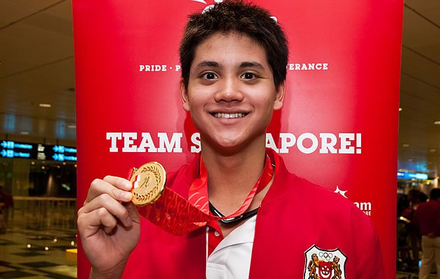 Joseph Schooling will represent Singapore in the 100 metres and 200 metres Butterfly events. (Yahoo! photo)