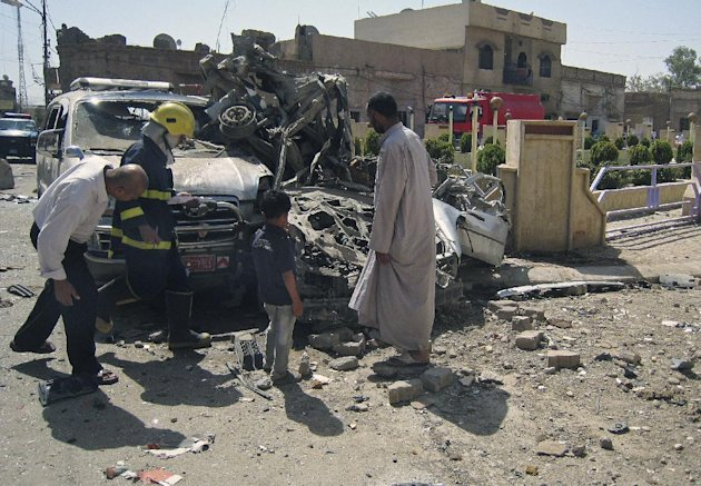Wave Of Attacks Kill At Least 44 In Iraq [AP]