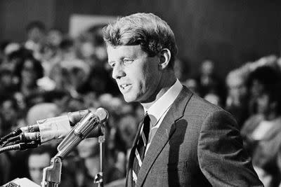 Watch Bobby Kennedy make the case for a gun control bill that only passed after he was killed
