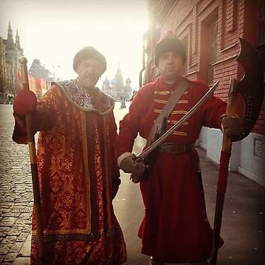 Old-school Russian garb
