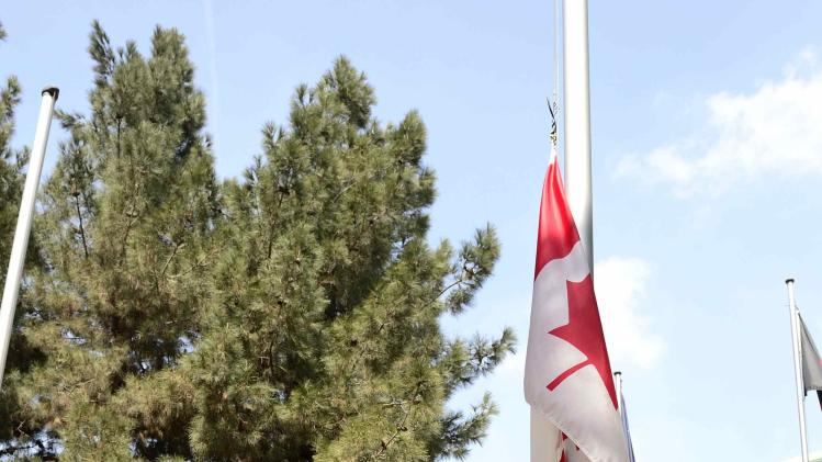 Canadian flag lowered at ceremony marking end of 12-year military involvement in Kabul