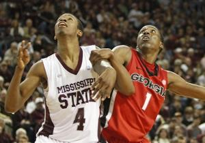 Caldwell-Pope, Georgia beat No. 20 Miss St in OT