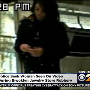 Police Release Photo Of Woman Wanted For Questioning In Brooklyn Smash-And-Grab Jewelry Robbery