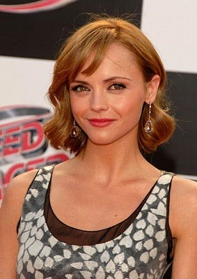 Christina Ricci at the Los Angeles premiere of Warner Bros. Pictures' Speed Racer