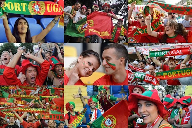 Portuguese Supporters AFP/Getty Images