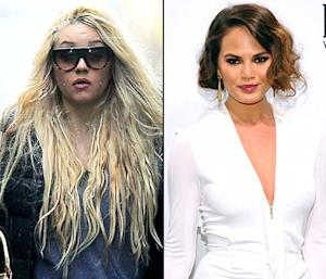 "Amanda Bynes, Chrissy Teigen Feud on Twitter: ""You're an Old, Ugly Model Compared to Me!"""
