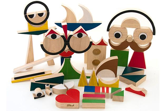 Playshapes Wooden Blocks