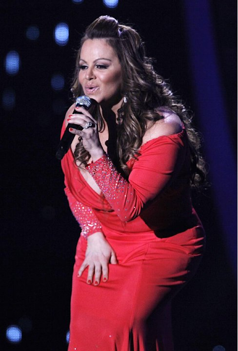 FILE - In this April 26, 2012, file photo, singing superstar Jenni Rivera performs during the Latin Billboard Awards in Coral Gables, Fla. Authorities in Mexico say the wreckage of a small plane belie