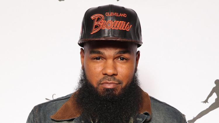 IMAGE DISTRIBUTED FOR JORDAN BRAND - Stalley is seen at the Jordan Brand party celebrating Michael Jordan's birthday on Friday, February 15, 2013 in Houston, TX.  The Jordan Brand launched its Air Jordan XX8 in Houston on the same day.  (Photo by Omar Vega/Invision for Jordan Brand/AP Images)