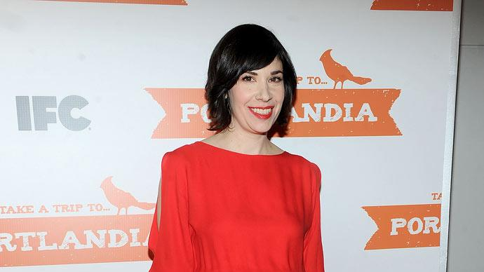 "Carrie Brownstein attends the ""Portlandia"" Season 2 premiere screening at the American Museum of Natural History on January 5, 2012 in New York City."