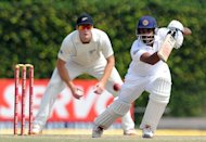 Sri Lanka's Prasanna Jayawardene plays a shot in the second and final Test against New Zealand in Colombo on November 29. Sri Lanka head to Hobart and next week's opening Test against Australia after drawing their only leadup match against the Chairman's XI in Canberra on Saturday