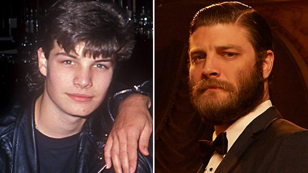 "Jay R. Ferguson in ""The Outsiders"" (1990) and ""Mad Men"" (2013)"