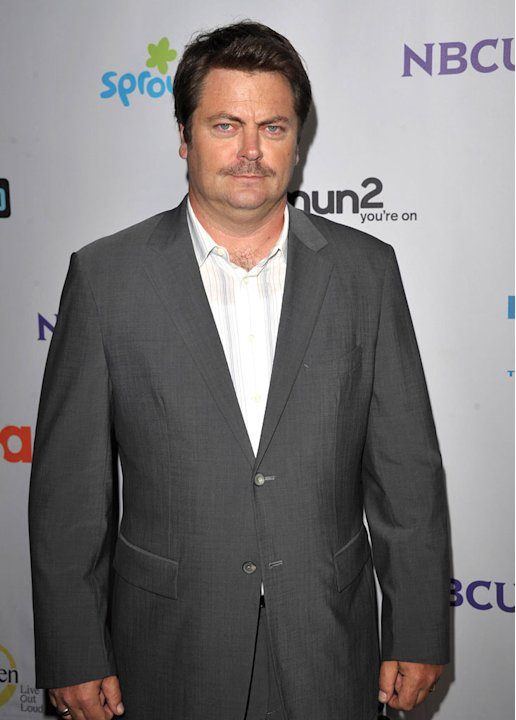 Nick Offerman of &quot;Parks and Recreation&quot; attends the NBC Universal Summer TCA 2011 All-Star Party at the SLS Hotel on August 1, 2011 in Los Angeles, California. 