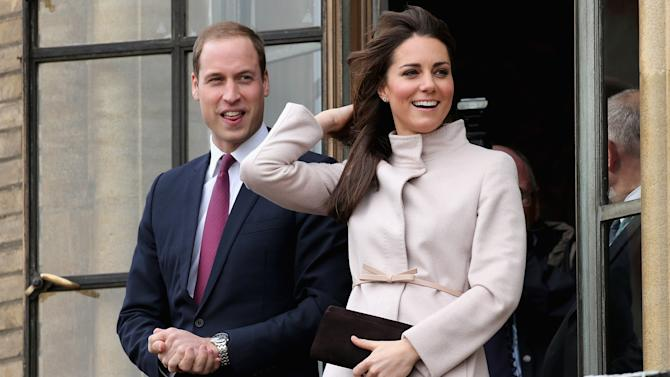 The Duke And Duchess Of Cambridge Make An Official Visit To Cambridge