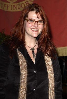 Premiere: Sara Rue at the Hollywood premiere of Warner Brothers' Harry Potter and The Chamber of Secrets - 11/14/2002