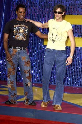 Orlando Jones and Adrien Brody
