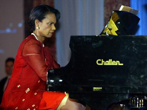 Condoleezza Rice Is a Classical Pianist
